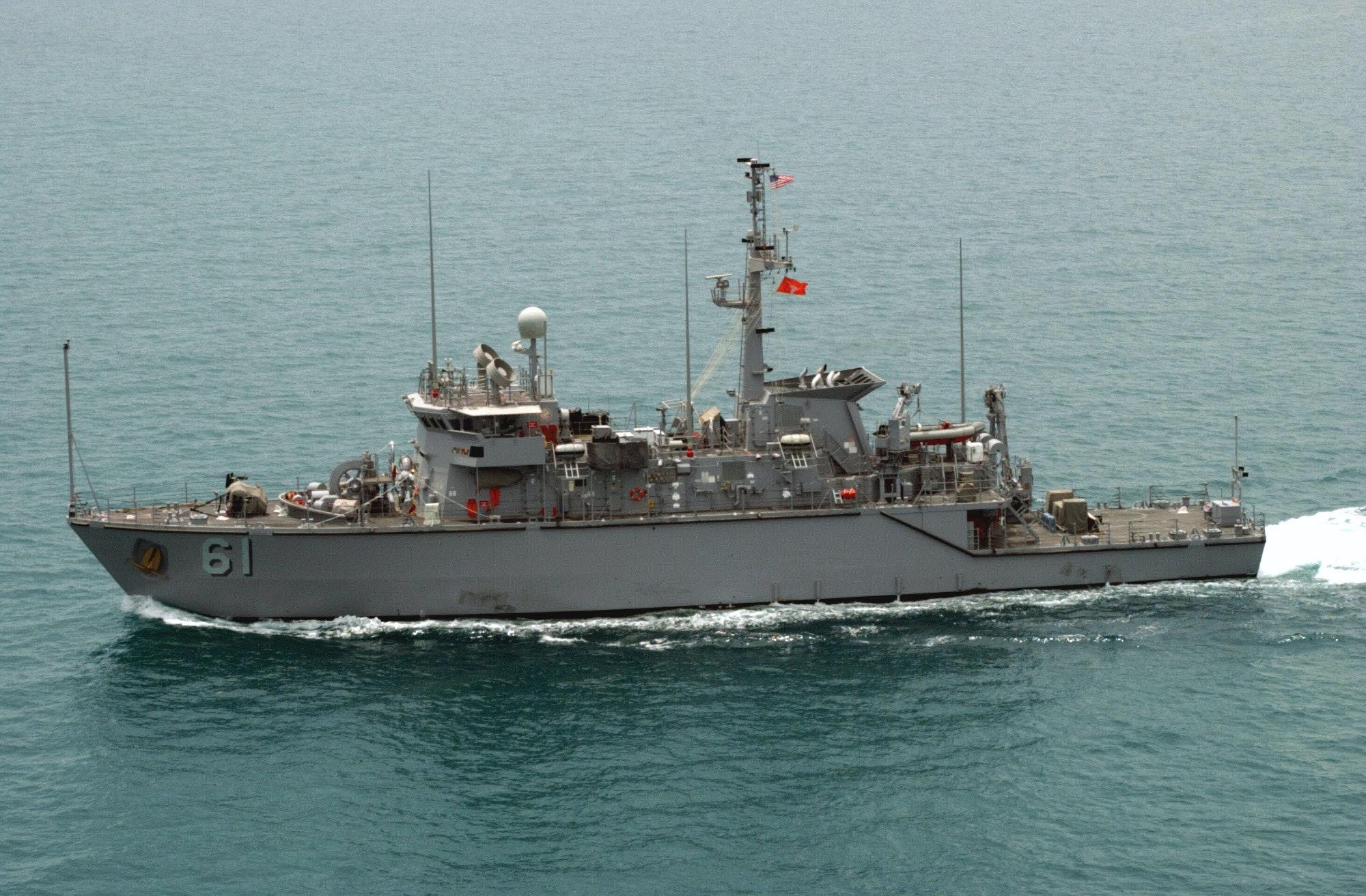 USS_Raven_MHC_61_Persian_Gulf